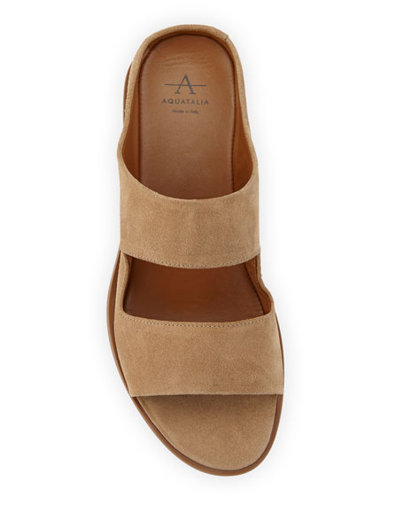 Abbey Two-Band Slide Sandal