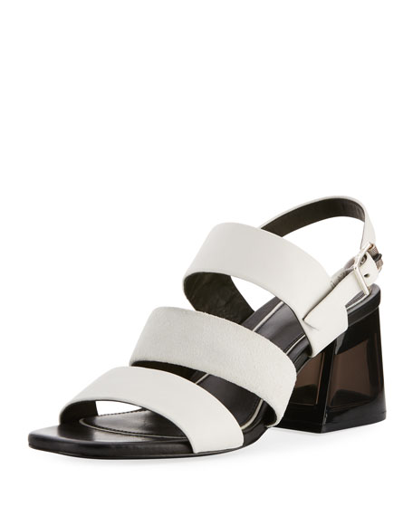 Reese Three-Strap City Sandal