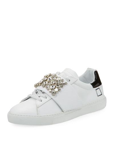 Newman Jewel-Strap Sneaker