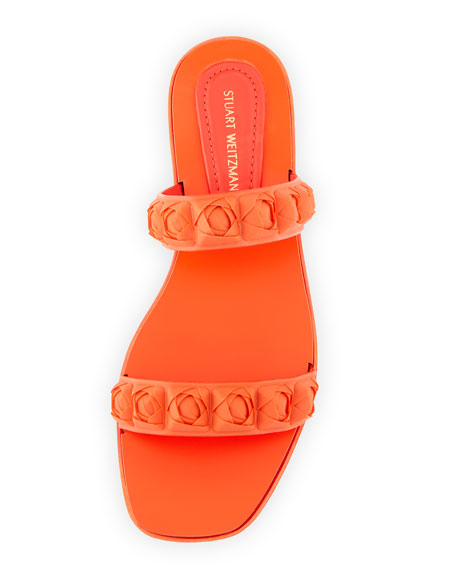 Rosita Two-Band Slide Sandal