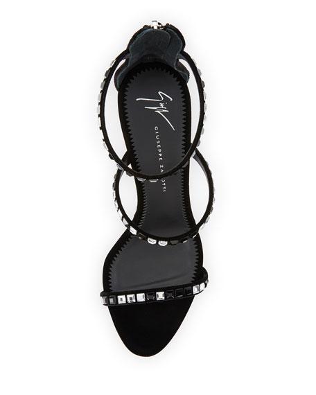 Three-Band Embellished Sandal