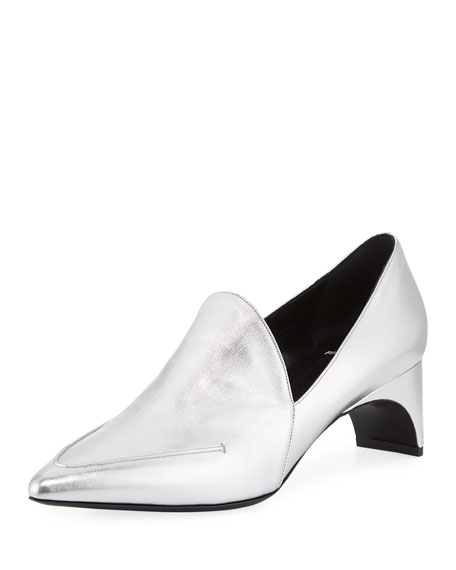 Jessie Metallic Pointed Pumps