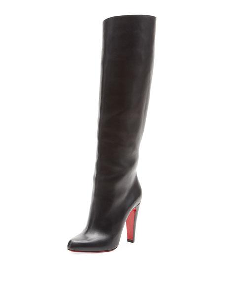 074aacf3a2d Marmara Botta Red Sole Knee Boot