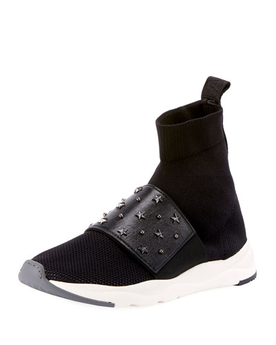 Cameron Studded Mesh Sneakers
