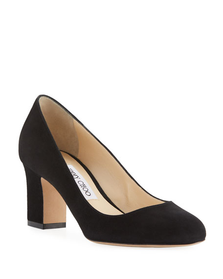 ec6bf7707132 Jimmy Choo Billie 85mm Suede Pumps