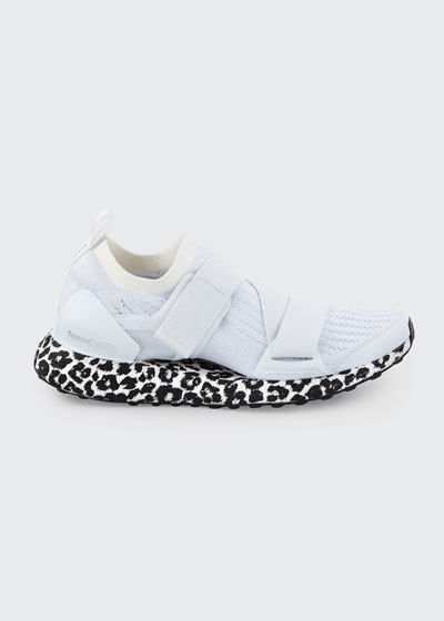 Ultraboost X Fabric Sneakers, White/Black