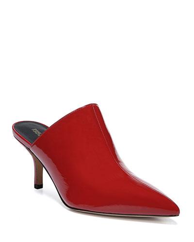 1e1c97f6a4f Mikaila Patent Pointed Mules Quick Look. Diane von Furstenberg