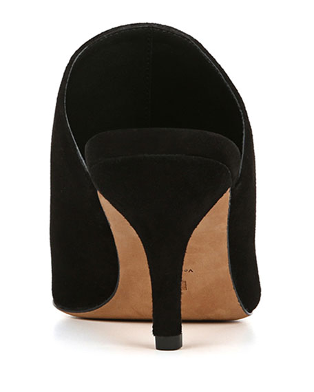 Mikaila Suede Slide Mules