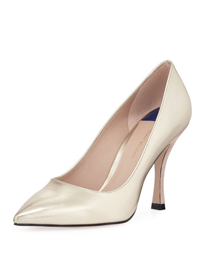 Tippi 95mm Glacier Point-Toe Pumps