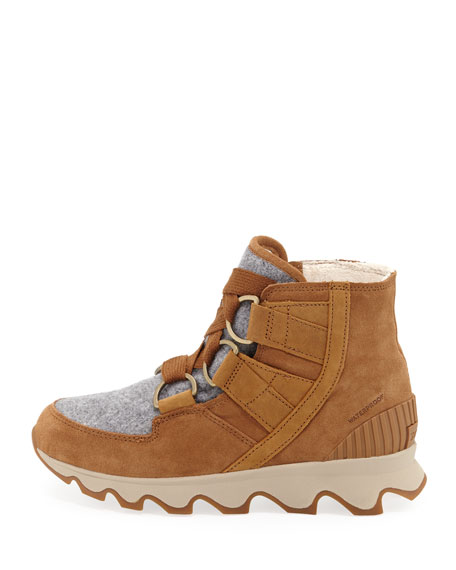 Kinetic Short Waterproof Suede/Felt Hiker Boots