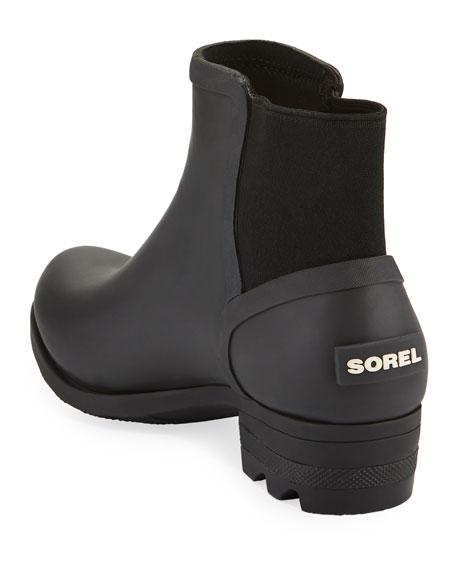 Janey Waterproof Rubber Chelsea Boots