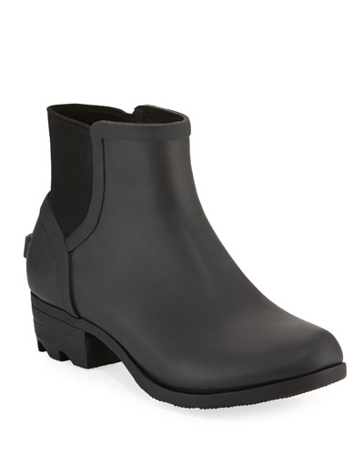 Janey Waterproof Rubber Chelsea Boots