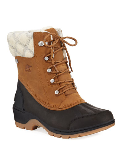 Whistler Mid Waterproof Two-Tone Duck Boots