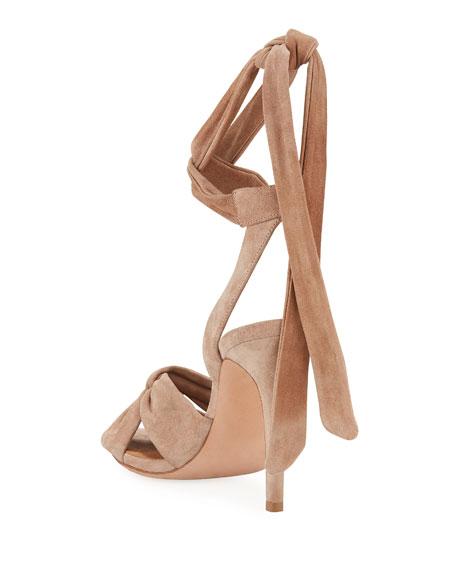 1a787d4fc Veronica Beard Calida Suede 100mm Sandals