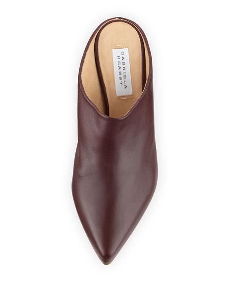 Leiva Leather Embellished Mules