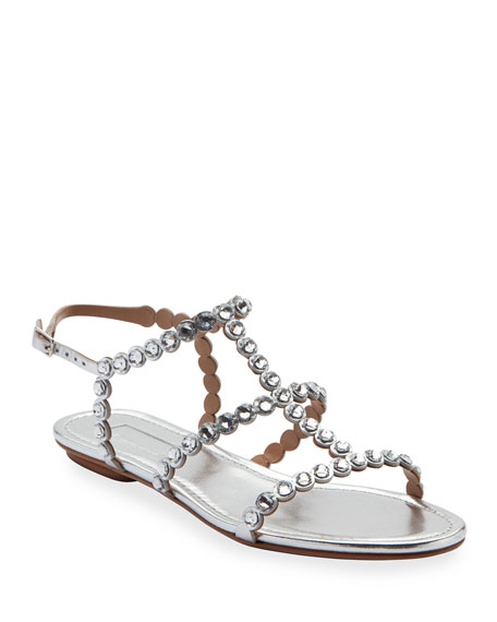 Tequila Jeweled Strappy Sandals