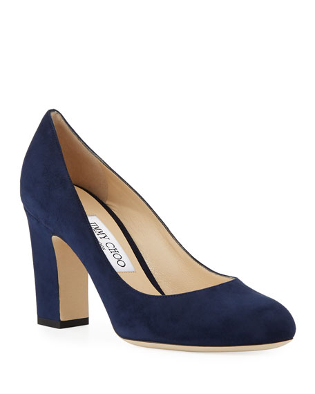 ab0d0fbcaefa Jimmy Choo Billie 85 Suede Pumps