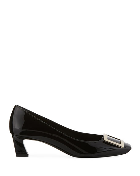 Belle Vivier Trompette Patent Leather Pumps