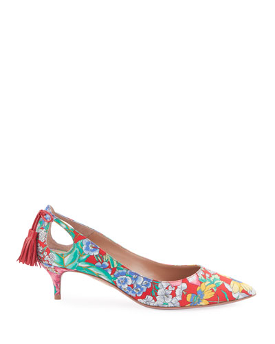 aac52d232ab1 Forever Marilyn Garden Party Tassel Pumps