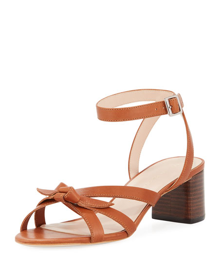 Loeffler Randall Anny Delicate Strappy Leather Sandals