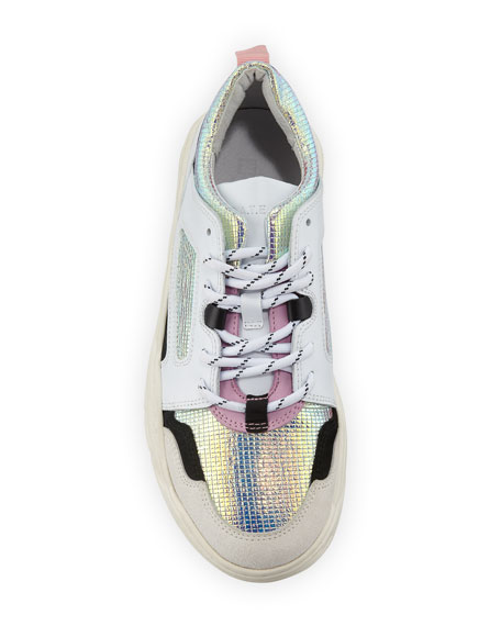 Prozac Holographic Dad Sneakers