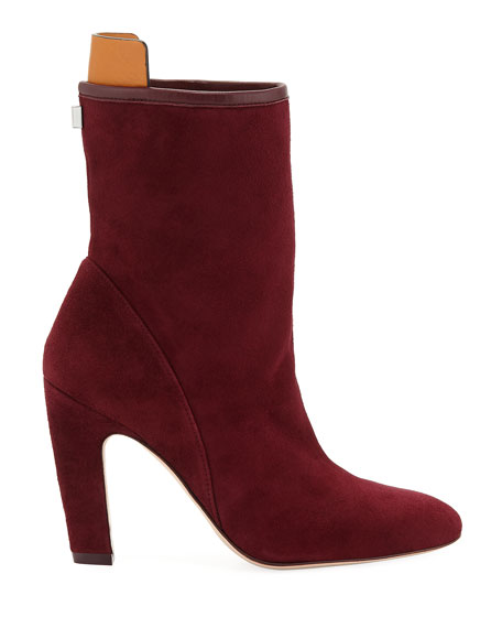 Brooks Slouchy Suede Booties