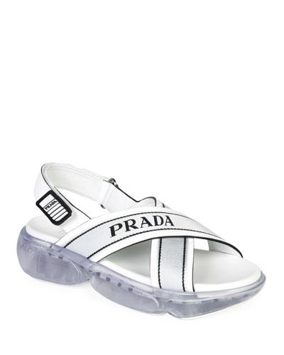 80311774d025 Prada Women s Shoes   Creepers   Slide Sandals at Bergdorf Goodman