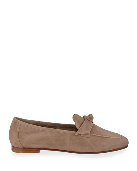 Becky Flat Suede Loafers