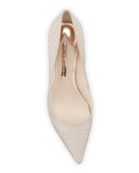 Coco Glitter Crystal-Heel Pumps