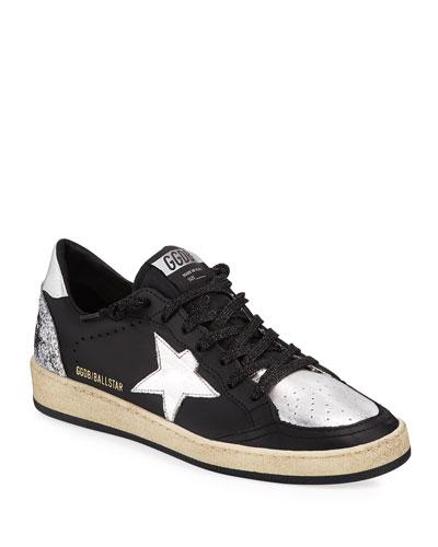Ball Star Glitter Sneakers