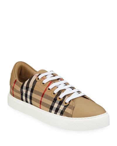 Albridge Check Sneakers