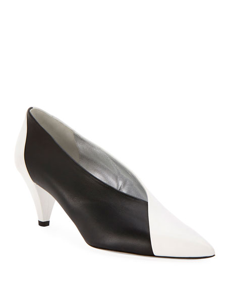 Image 1 of 1: Soft Two-Tone Pumps