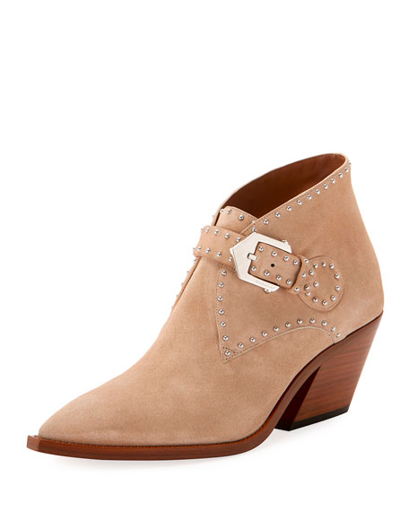 Elegant Cowboy Ankle Booties by Givenchy