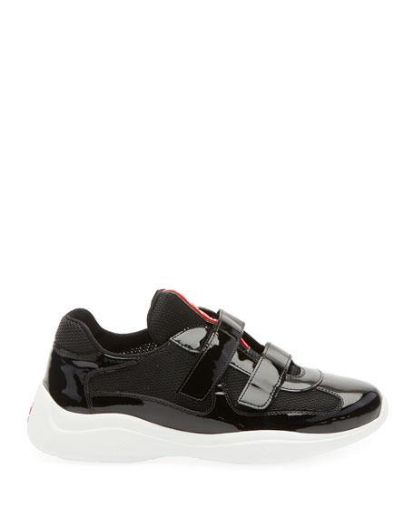 Barca Mesh/Patent Grip Sneakers