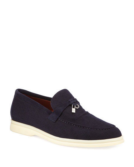 Summer Walk Cashmere Loafers