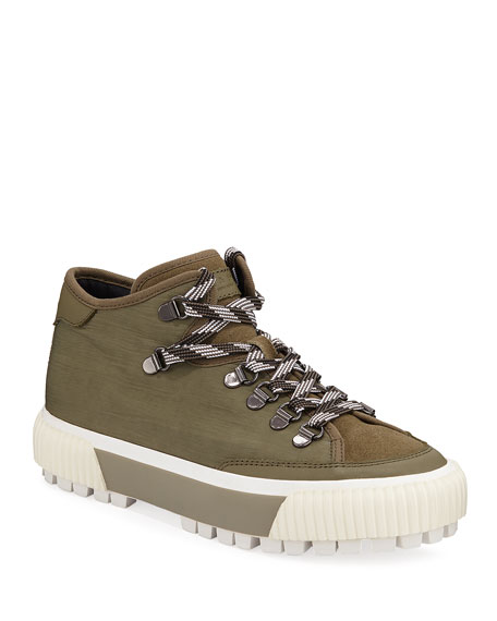 RB Army Lace-Up Hiker Booties