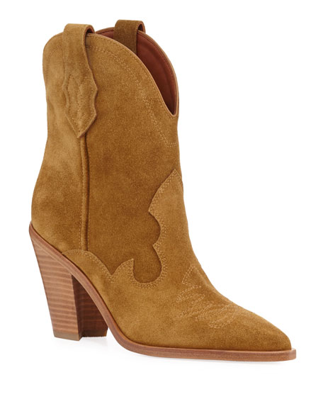 Image 1 of 1: Kalila Suede Pull-On Boots