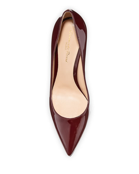 Gianvito 85 Patent Leather Point-Toe Pumps
