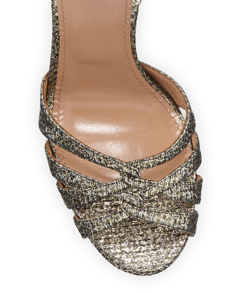 Veranda Platform Metallic Sandals