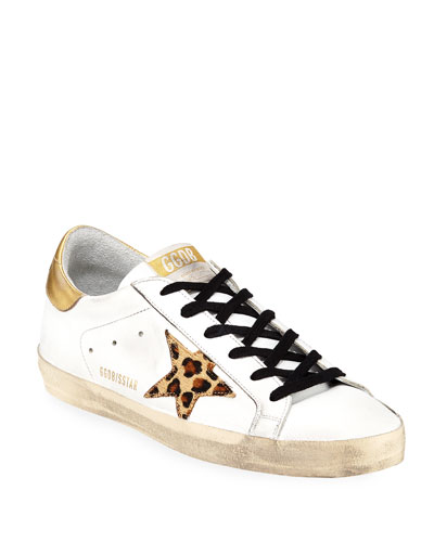 Superstar Leopard-Star Sneakers