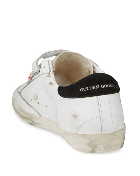 Old School Grip Leather Sneakers