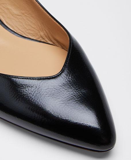 Laurena Scalloped Slingback Ballerina Flats