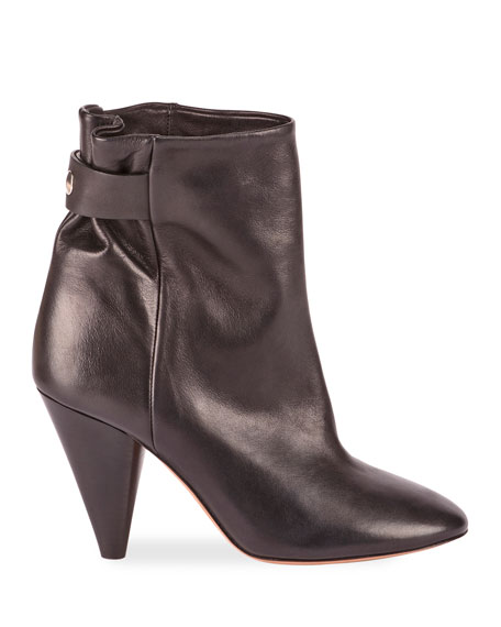 Lystal Soft Leather Booties