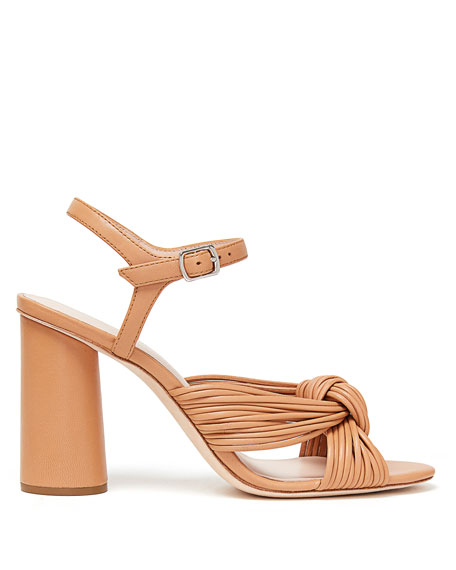 Cece Leather Knot 90mm Sandals