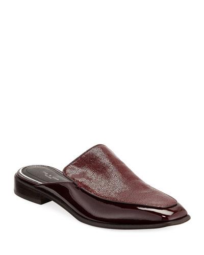 Aslen Flat Loafer Mules