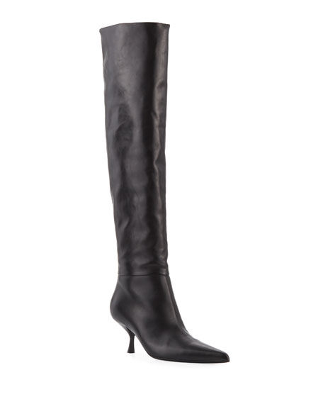 Image 1 of 1: Bourgeoisie Leather Boot