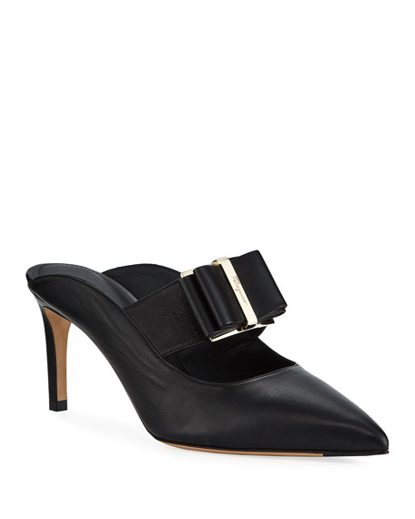 Image 1 of 1: Zelda Bow Mule Pumps