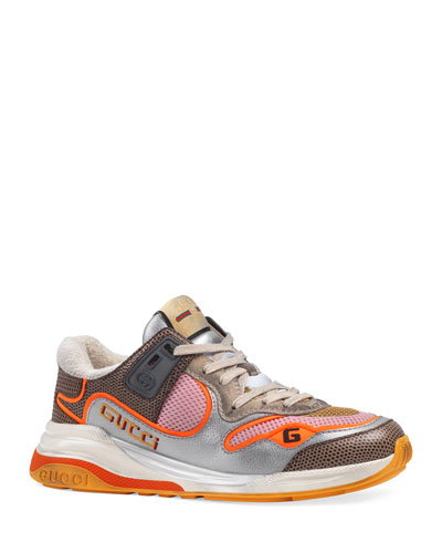 Ultrapace Metallic Cushioned Sneakers