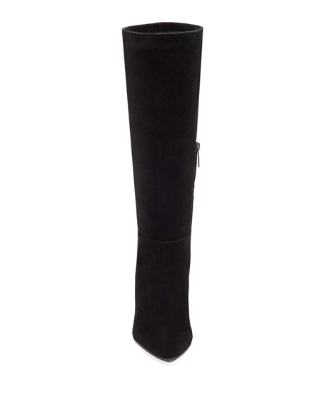 Karly Suede Knee Boots