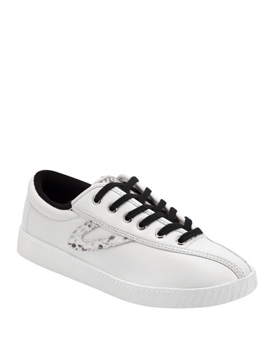 Nylite 36 Plus Leather Sneakers